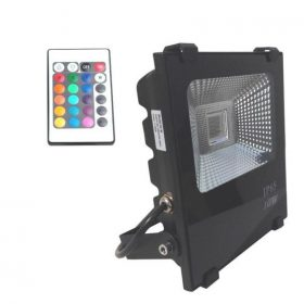 foco-proyector-exterior-led-10w-rgb-profesional-factorled