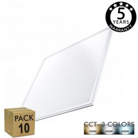 pack-10-dalle-led-60x60-40w-cadre-blanc-cct-factorled